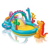 intex rainbow ring inflatable play center reviews
