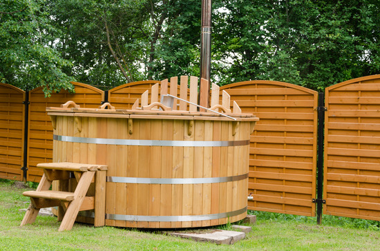 sale hot tubs fired wood wooden for tub