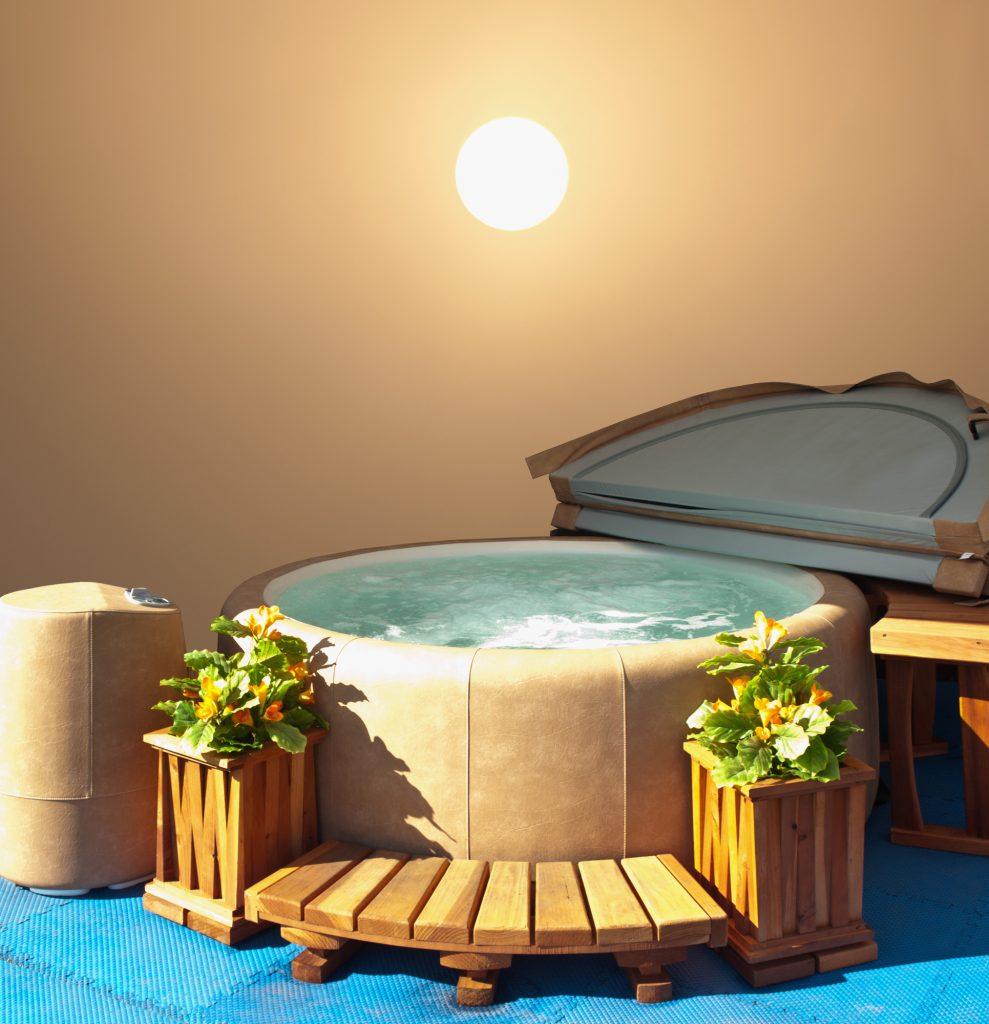 small hot tubs